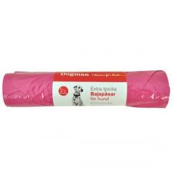 Hundeposer med knytehåndtak 60-pakk