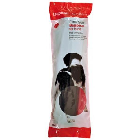 Hundeposer med knytehåndtak 60 stykk
