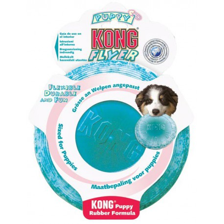 Kong puppy flyer (freesbee)