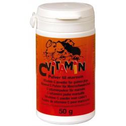 C-vitamin pulver gnagere