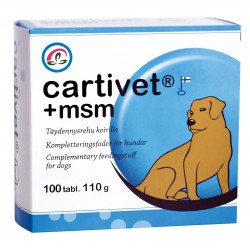 Tabletter, Cartivet + MSM