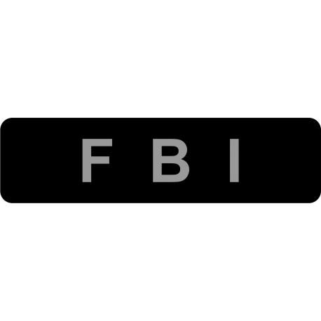 Sticker Dog extreme FBI