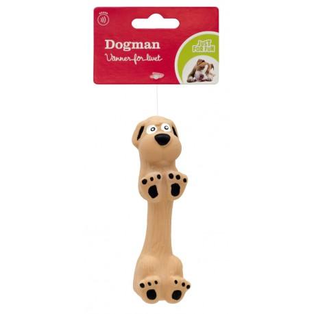 Latekshund med pipelyd