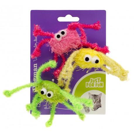 Glittrende edderkopper 3-pack