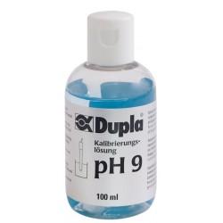 Dupla calibration pH9