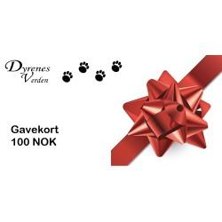 Gavekort 100 NOK