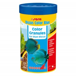 Sera discus color Blue foder