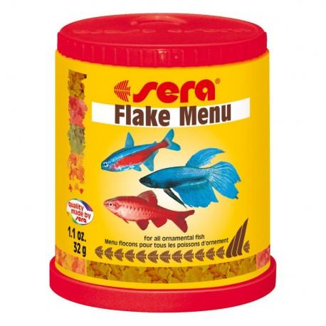 Sera Flake Menu fôr
