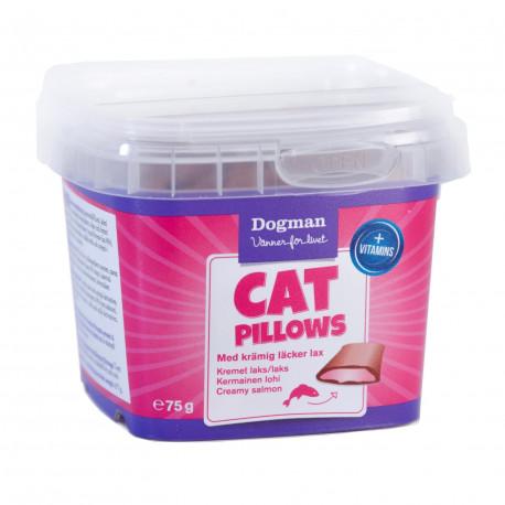 Cat Pillows kremet laks