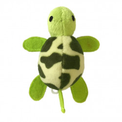 Kattlek vibrerande sköldpadda